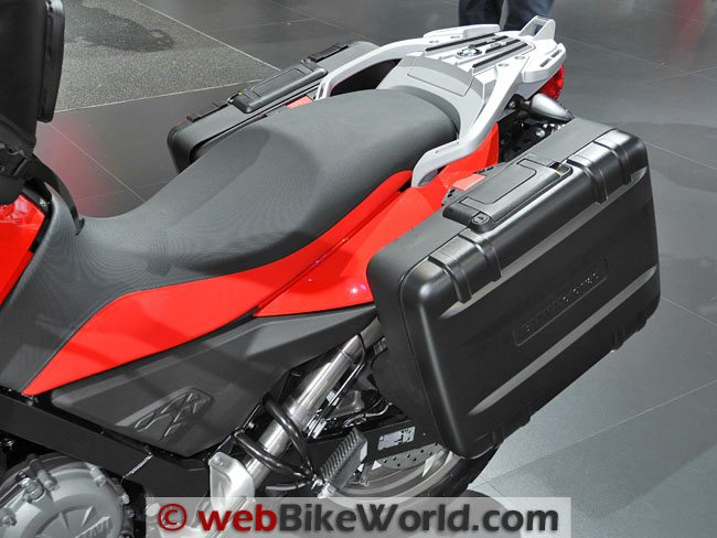 BMW G650GS - Luggage