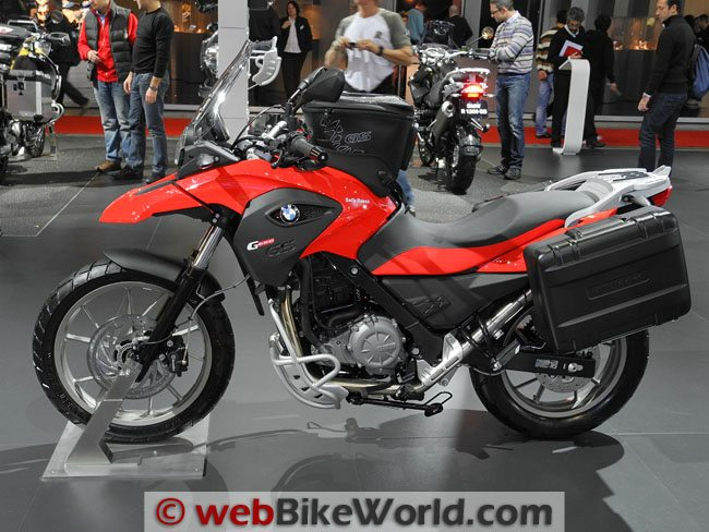 BMW G650GS - Red