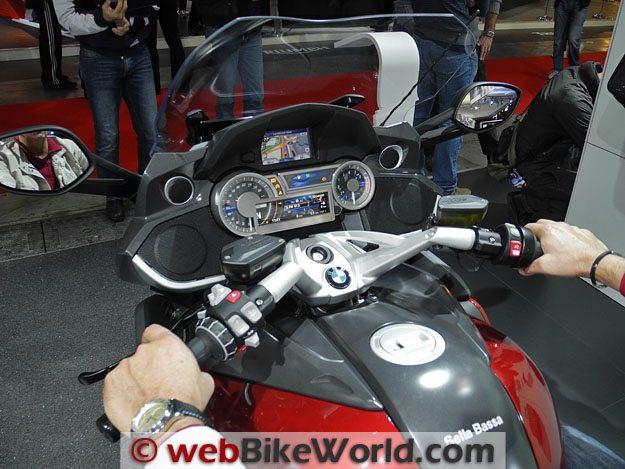 BMW K 1600 GT Dash
