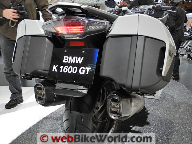 BMW K 1600 GT Rear View