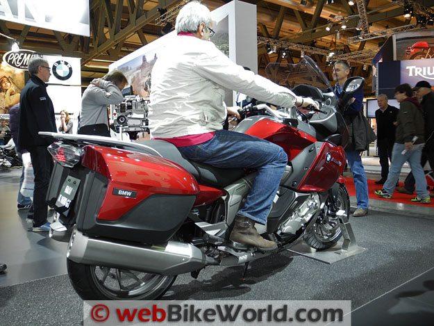 BMW K 1600 GT Rider Rear
