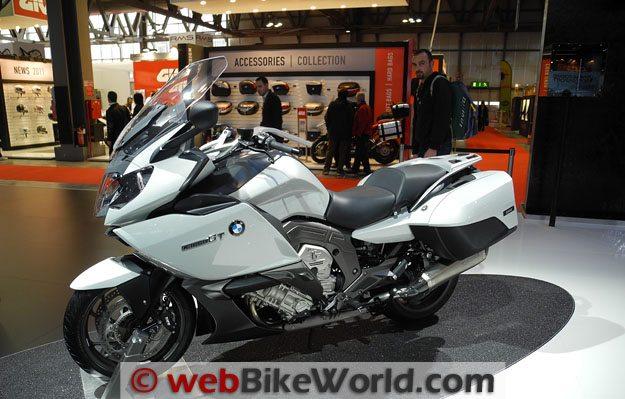 BMW K 1600 GT White, Left Side