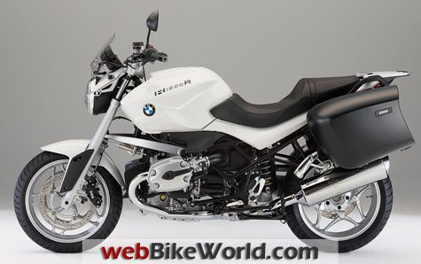 BMW R1200R Touring Special - Left Side