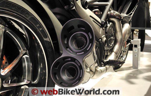 Ducati Diavel Exhaust