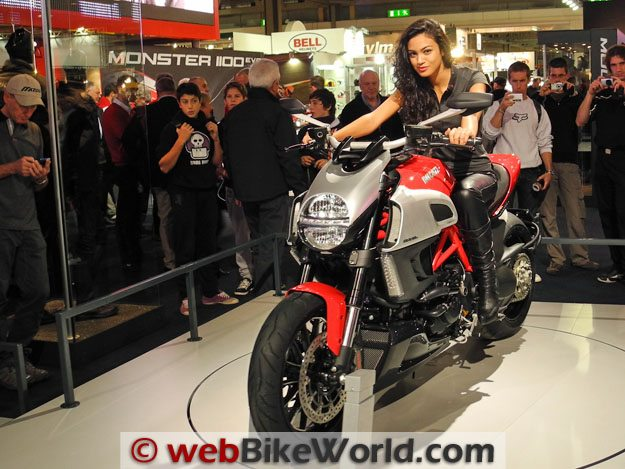 Ducati Diavel Front View