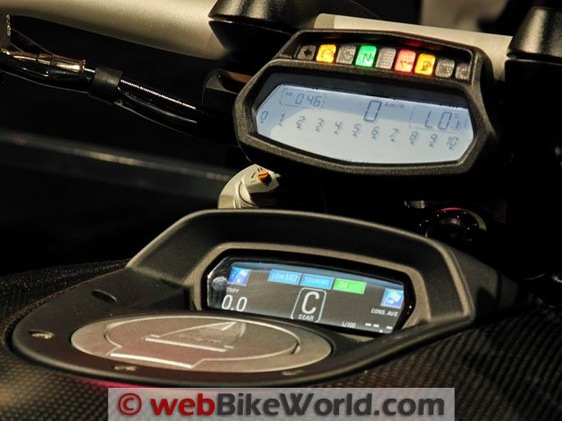 Ducati Diavel Instruments