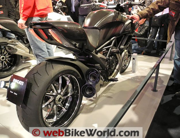 Ducati Diavel Exhaust