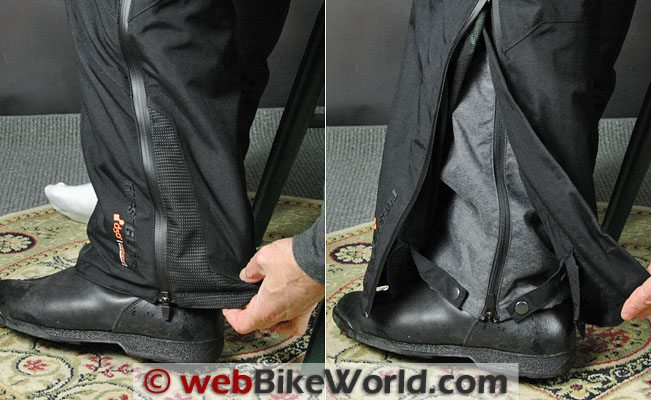 2011 Firstgear Escape Pants - Leg Cuff