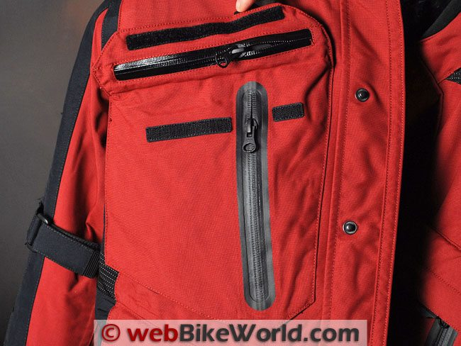Firstgear Rainier Jacket - Front Pocket