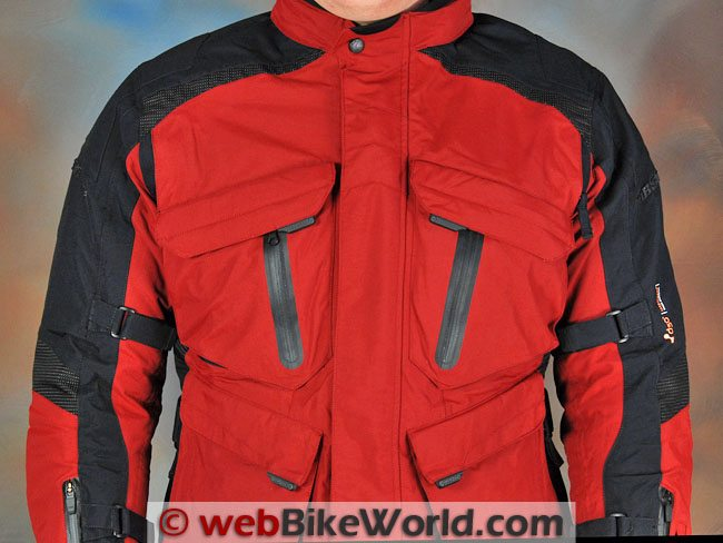 Firstgear Rainier Jacket - Front Pockets