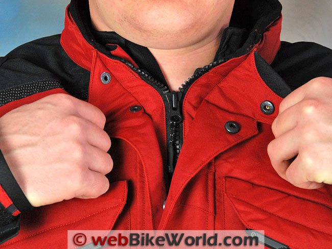 Firstgear Rainier Jacket - Collar