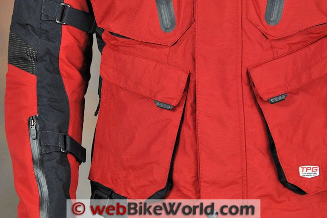 Firstgear Rainier Jacket - Pockets