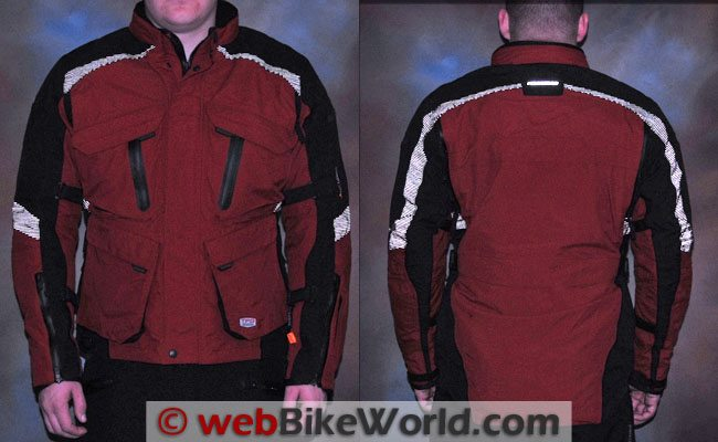 Firstgear Rainier Jacket - Reflectivity