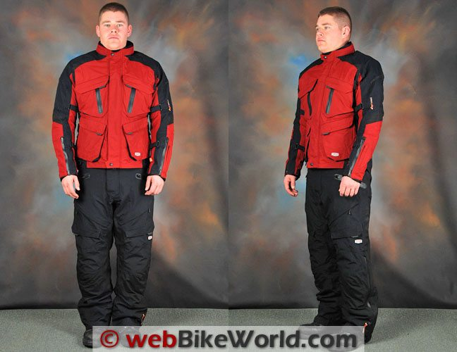 Firstgear Rainier Jacket and Pants - Front