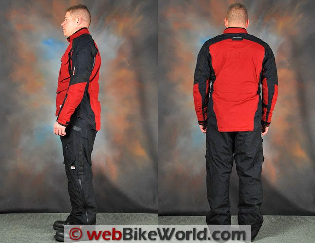 Firstgear Rainier Jacket and Pants - Rear