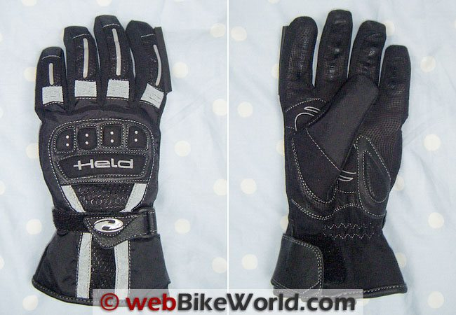 Front and Rear of the Held Kallisto Gloves