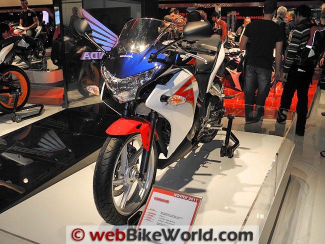 Honda CBR250R - Front