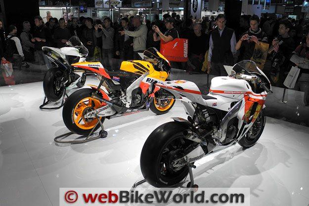Honda Race Bikes