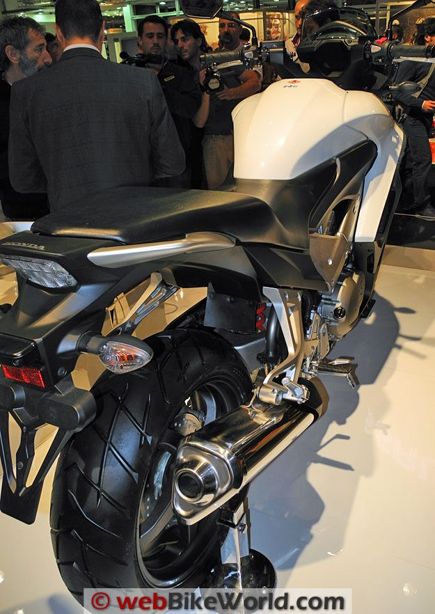 Honda Crossrunner Rear View