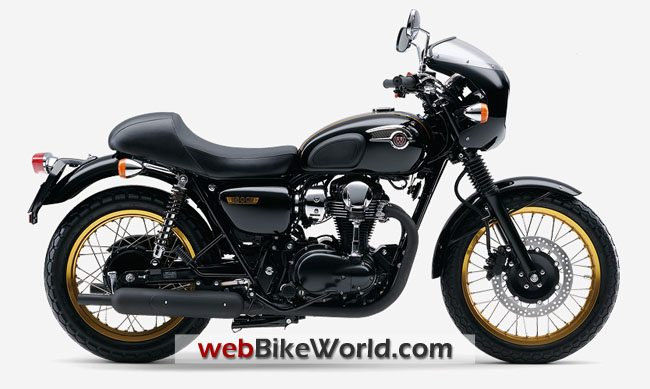 Kawasaki W800 Café Racer - Black