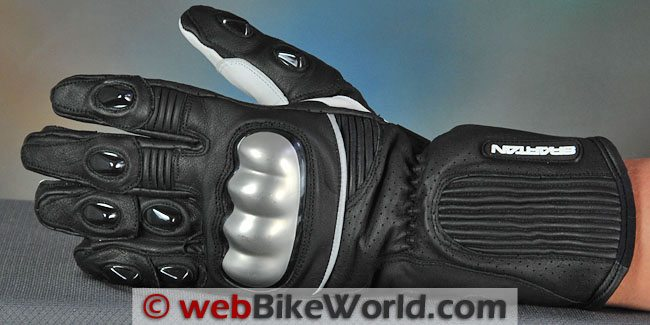 Spartan Leathers - SL-1 Gloves, Top View