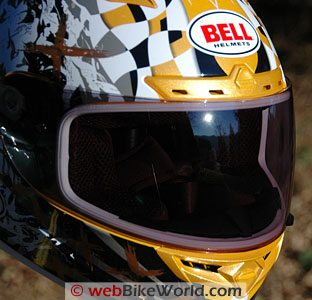 Transitions SolFX Visor - Bell Vortex Helmet