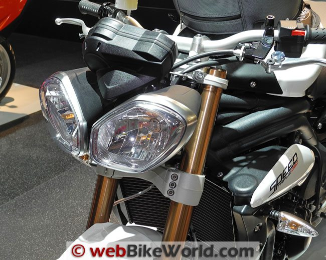 2011 Triumph Speed Triple Headlights