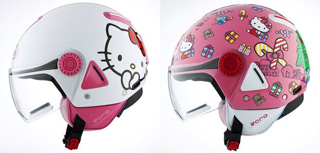 Vemar Hello Kitty Helmets