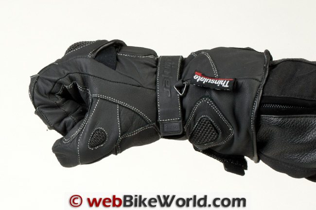 Cortech Scarab Gloves - Side