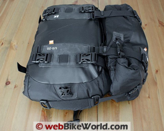 Kriega 20 Liter and 10 Liter Drypack Combination