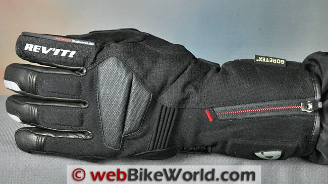 Rev'it Bastion GTX Gloves - Top View