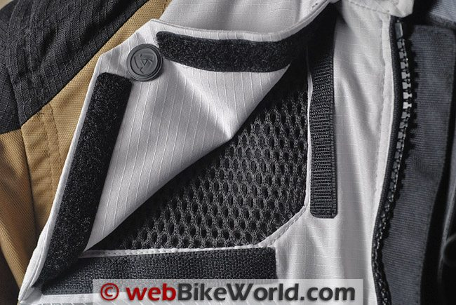 REV'IT! Defender GTX Jacket - 3D Mesh Vents