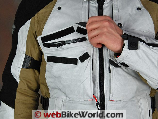 REV'IT! Defender GTX Jacket - Front Pocket
