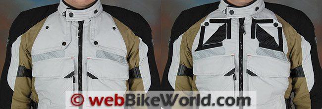 REV'IT! Defender GTX Jacket - Front Vents