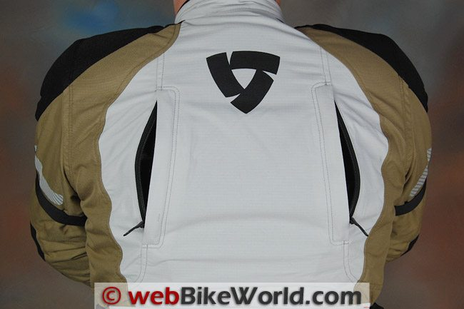 REV'IT! Defender GTX Jacket - Rear Vents