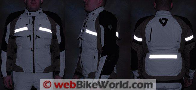 REV'IT! Defender GTX Jacket - Reflectivity