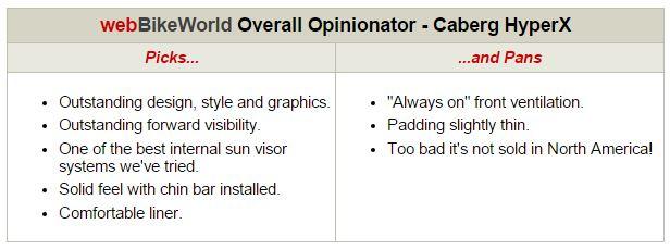 Caberg HyperX Opinionator