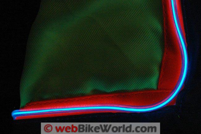 Electroluminescent Piping Close-up