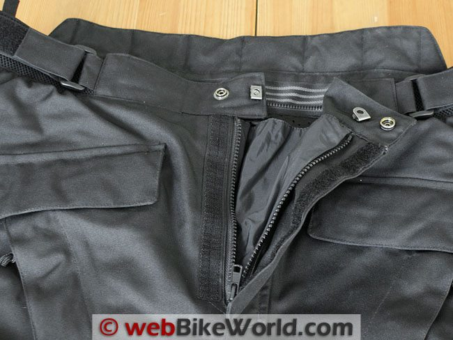 Firstgear HT Overpants - Metal Waist Hooks