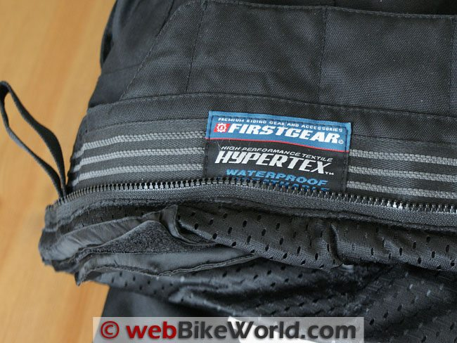Firstgear HT Overpants - Waist Liner