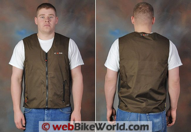 Gerbing Battery Heated Vest - Front Views