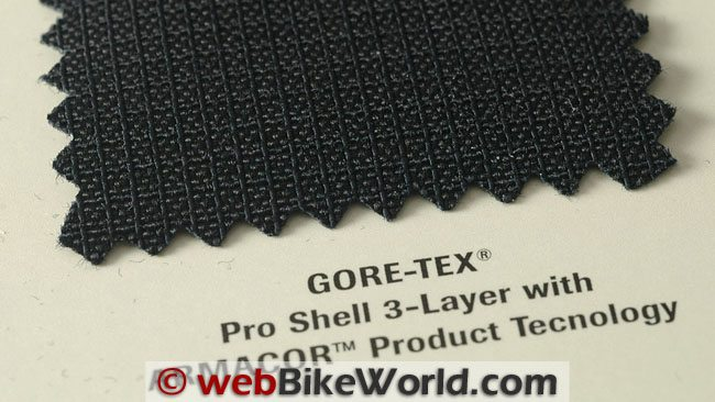 Gore-Tex Pro Shell 3-Layer With Armacor