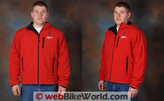 Milwaukee Heated Jacket - Front and Side Views