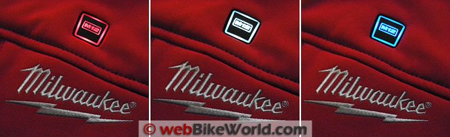 Milwaukee Heated Jacket - On/off Switch