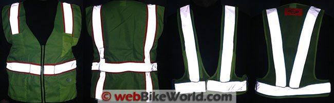 Retro-reflective Vest Views