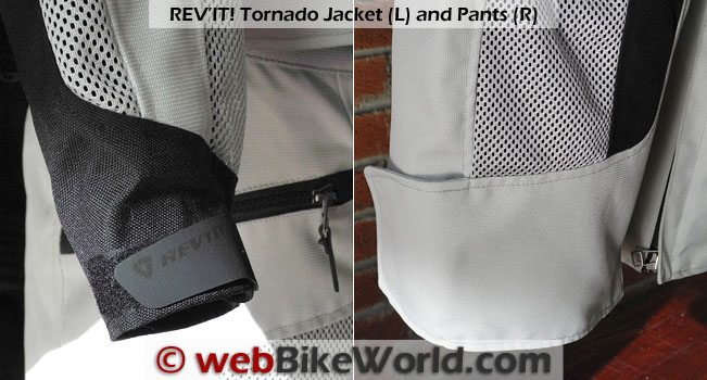 Rev'it Tornado Jacket Details