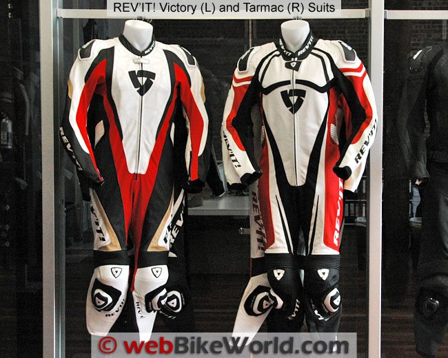Rev'it Victory and Tarmac Suit