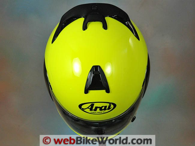 Arai Vector 2 - Top View