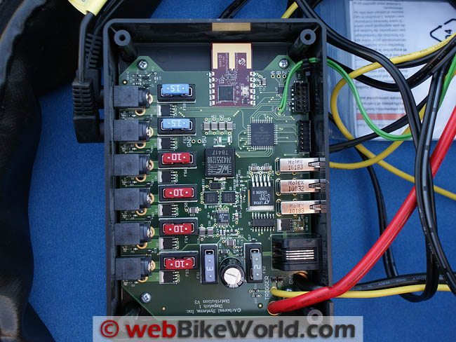 Dispatch 1 Power Distribution Module Internals