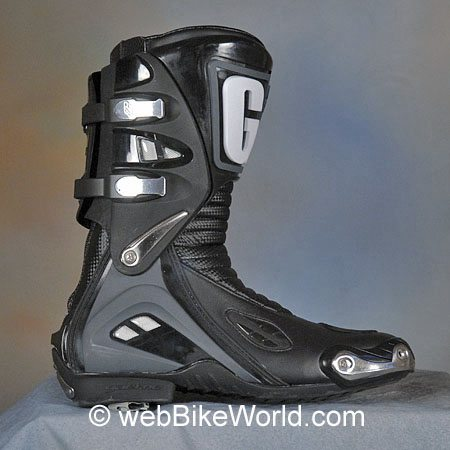 Gaerne GRS Boots - Outside of Right Boot